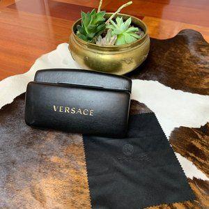 Versace Leather Sunglass Case